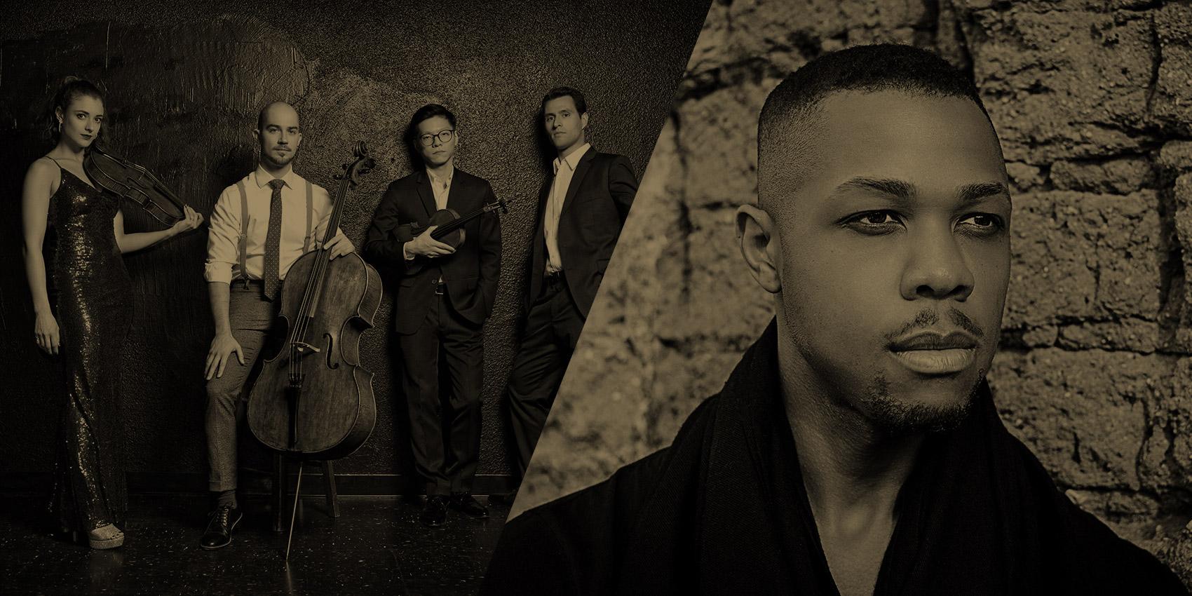 Dover Quartet with Davone Tines