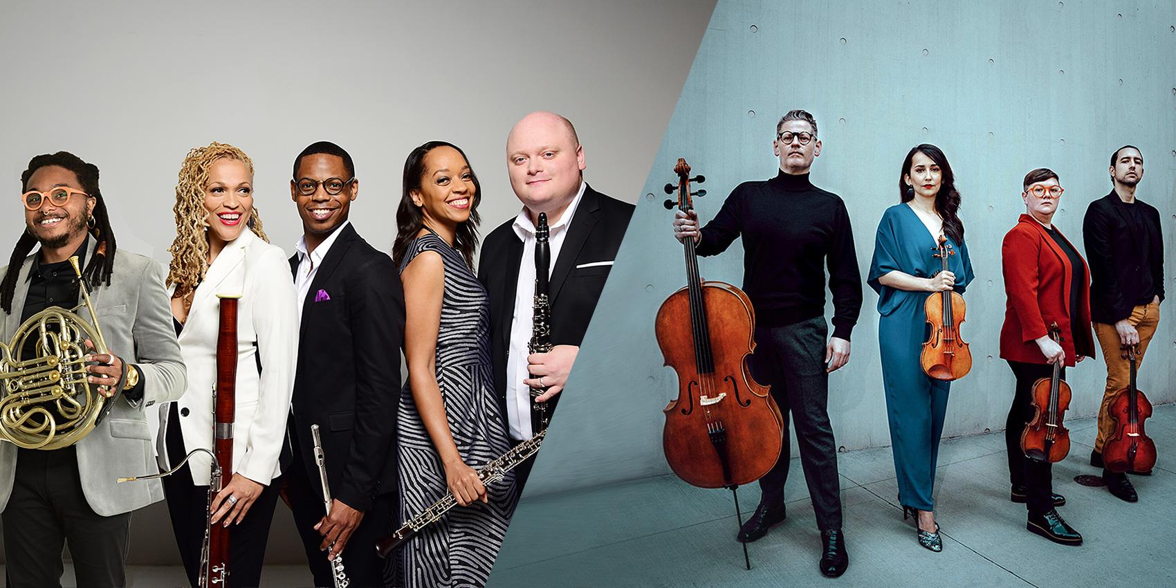 Imani Winds & Catalyst Quartet