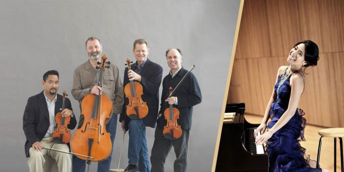 Alexander String Quartet with Joyce Yang