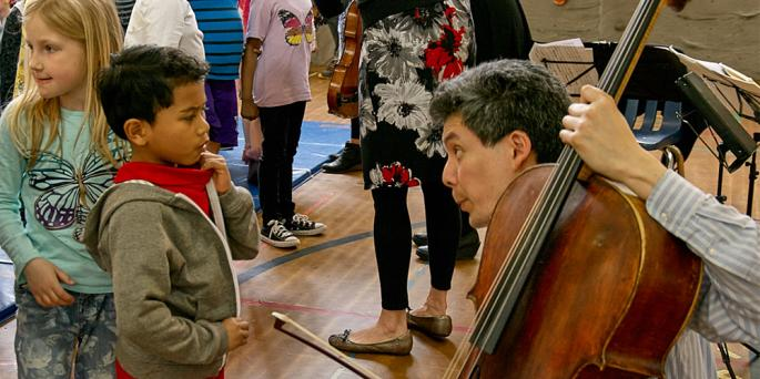 Daedalus Quartet Visits Lowell Elementary