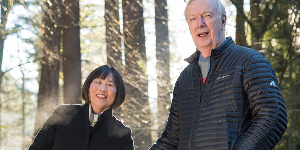 David and Cathy Hughes