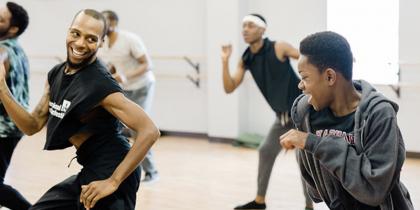 Black Men Moving Workshop
