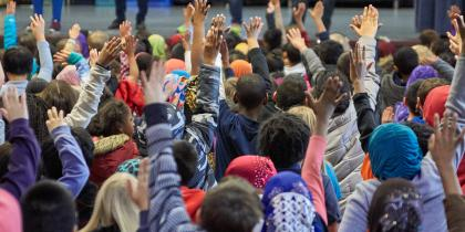 Students Participate at John Muir Elementary