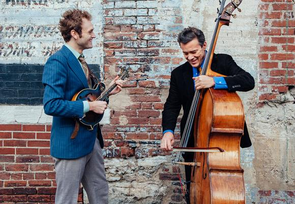 Chris Thile and Edgar Meyer by David McClister