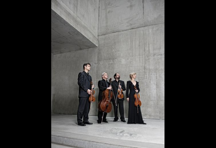 Hagen Quartet. Photo: Harald Hoffmann